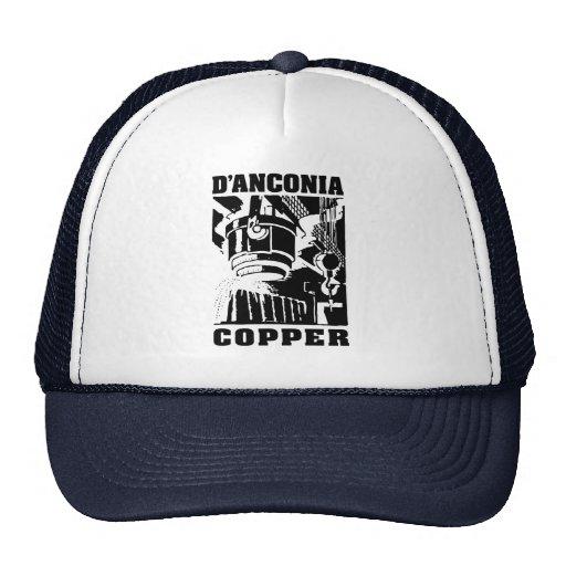 d'Anconia Copper / Black Logo Hats