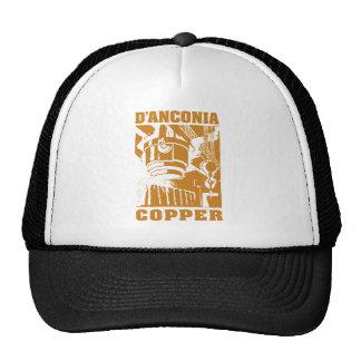 d'Anconia Copper Copper Logo Trucker Hat