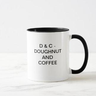 D & C - DOUGHNUT AND COFFEE MUG