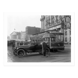 D.C. Traffic Cop, 1913 Postcard