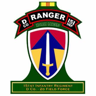 D Co, 151st Infantry Regiment, Vietnam Standing Photo Sculpture