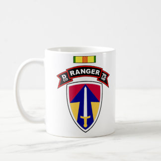 D Co, 75th Infantry - Ranger - 2FFV, Vietnam Coffee Mug