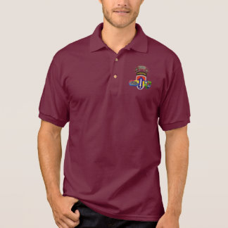 D Co RANGER 2D Field Force Vietnam  Polo Shirt