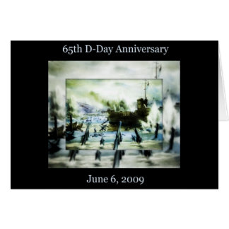 D-Day 65th Anniversary Greeting Card
