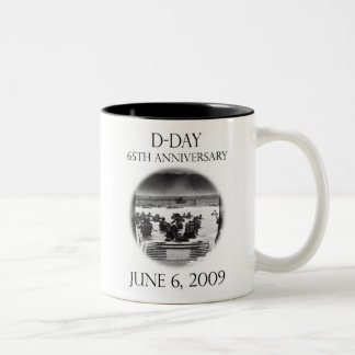 D-Day 65th Anniversary Remembrance Coffee Mugs