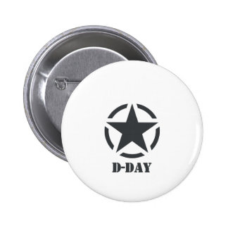 D-Day Normandy - Day-J - Normandy Pinback Buttons