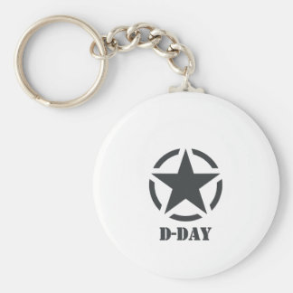 D-Day Normandy - Day-J - Normandy Basic Round Button Key Ring