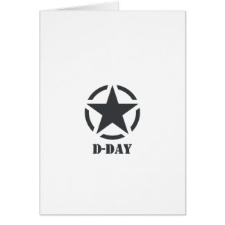 D-Day Normandy - Day-J - Normandy Greeting Card
