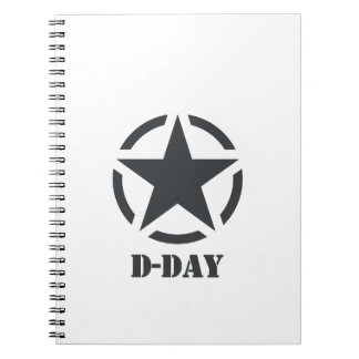 D-Day Normandy - Day-J - Normandy Spiral Notebooks