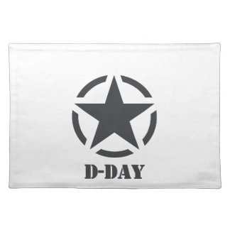 D-Day Normandy - Day-J - Normandy Placemats