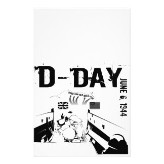 D-DAY CUSTOMIZED STATIONERY