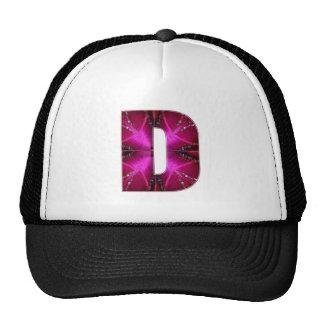 D DD DDD ALPHABETS ALPHA DDD TRUCKER HAT