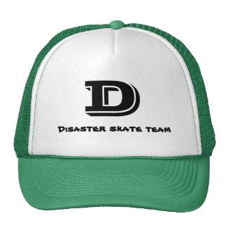 D, Disaster skate team Cap