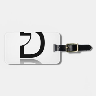 D for design luggage tag