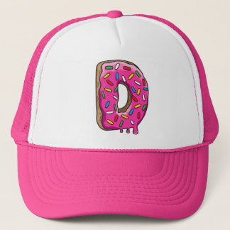 D for Donut Trucker Hat