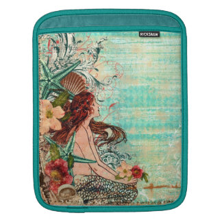 "D iPad & MacBook Sleeve  ""SeaShell Mermaid"""