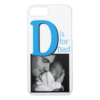 D is for Dad iPhone 8/7 Case