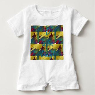 D is for Daisy Romper Baby Bodysuit