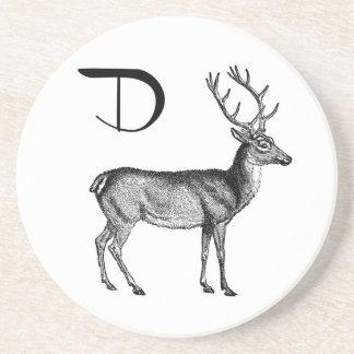 D is for Deer Coaster