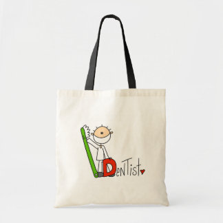 D is for Dentist Canvas Bags