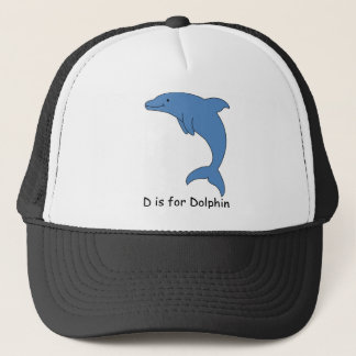 D is for Dolphin Trucker Hat