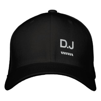 D.J Embroidered Hat