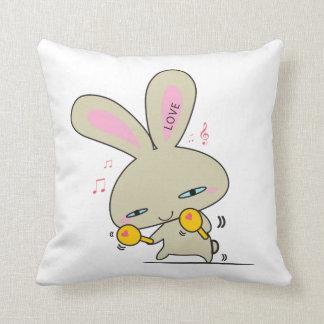 D J .Honey Bunny American MoJo Pillows