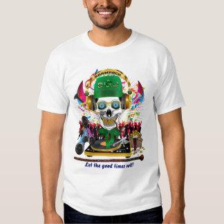 D. J. Shamrock Men All Styles Lignt View Hints T-shirts