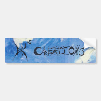 D.K.'s Creations Logo Bumpersticker Bumper Sticker