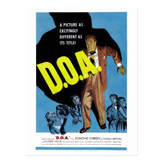 """D.O.A."" Postcard"