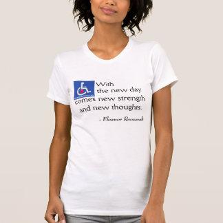 D/R - Eleanor Roosevelt Quote T-shirt