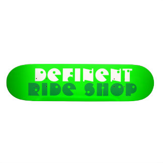 D.R-Shop Skateboard Deck