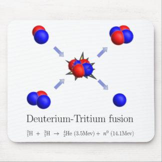 D-T fusion Mouse Pads