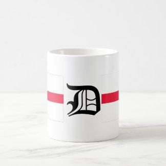 D-text English-Flag  Mug