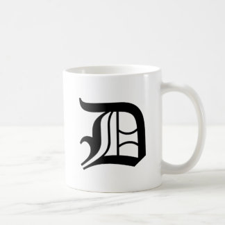 D-text Old English Coffee Mugs