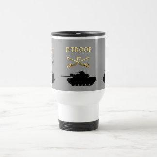 D Troop 17th Cavalry AFVs Mug