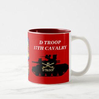 D Troop, 17th Cavalry M551 Sheridan Mug