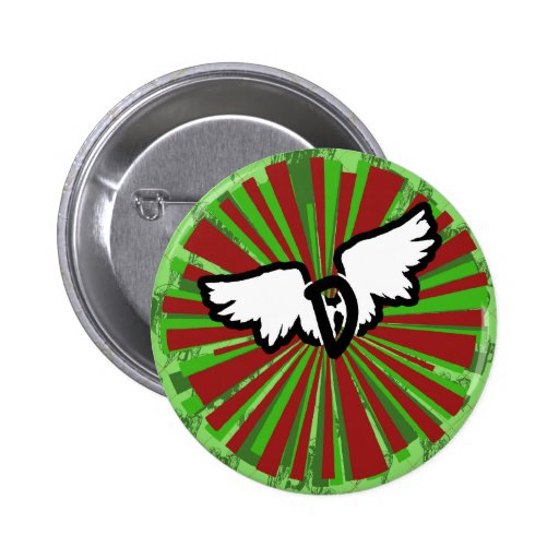 D-Wings Argyle Button