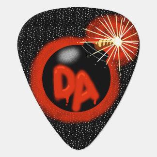 Da Bomb Guitar Pick