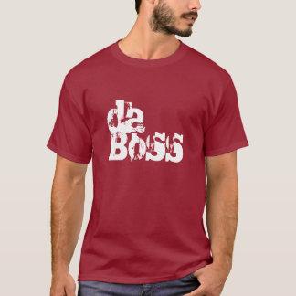 Da Boss The Boss Mens T-shirt