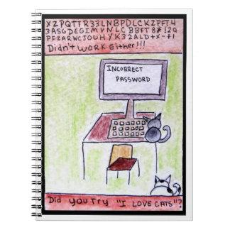 DA CatToon #4 - Cat Hackers  Notebook
