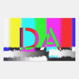 DA Color Difference Static Sticker