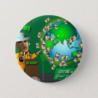 da green economy 6 cm round badge
