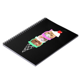 dA ICe CreAmz Spiral Notebook