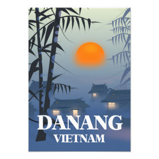 Da Nang Vietnam Travel poster Photo