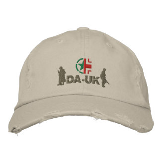 "DA-UK Cap ""Avalanche"" Embroidered Cap"