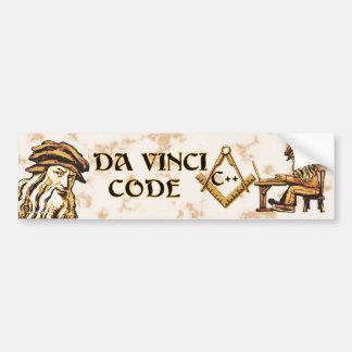Da Vinci Code C++ Bumperstickers Bumper Sticker