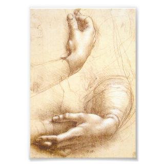 Da Vinci Hands Photo Art