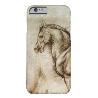 Da Vinci Horse Study iPhone 6 case Barely There iPhone 6 Case