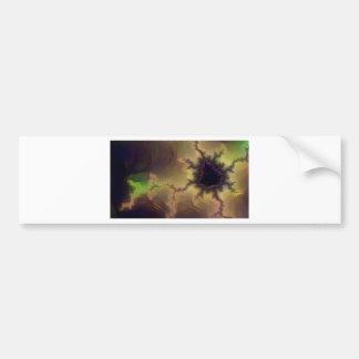 Da Vinci  Mandelbrot Zoom Bumper Sticker